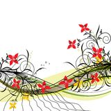 Floral background, vector Royalty Free Stock Images
