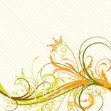 Floral background, vector. Decorative floral background, vector illustration Royalty Free Stock Image