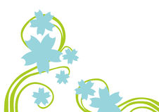Floral background - vector Royalty Free Stock Photo