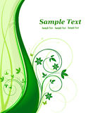 Floral background vector Stock Image