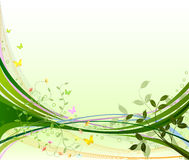Free Floral Background Vector Royalty Free Stock Image - 9861706