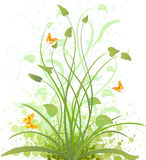 Floral background vector design stock photography