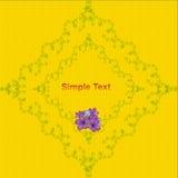 Floral background. Vector design template. Vector Stock Photos
