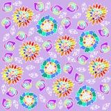 Floral background. Floral  background vector graphic illustration design art Stock Image