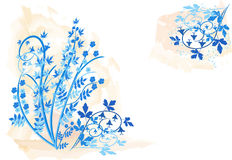 Floral background - vector illustration Stock Photography