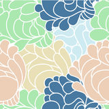Floral background. Floral vector seamless abstract background Stock Photos