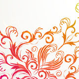 Floral background for vintage design. Royalty Free Stock Photos