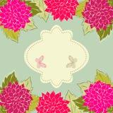 Floral background. Vintage Flower Background, vintage card Royalty Free Stock Image