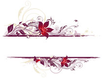 Floral background with violet flowers Royalty Free Stock Images