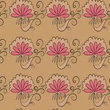Floral background and wallpaper stock illustration