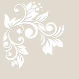 Floral background. Wedding card or invitation Stock Image