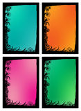 Floral backgrounds royalty free stock image