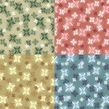 Floral backgrounds Stock Images