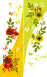 Floral backgrounds. For your design royalty free illustration