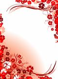 Floral backgrounds,  Royalty Free Stock Photography