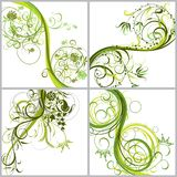 Floral backgrounds, vector Royalty Free Stock Photos