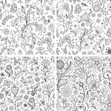 Floral backgrounds. Royalty Free Stock Image