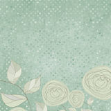 Floral backgrounds with vintage roses. EPS 8. Vector file included Royalty Free Stock Photography