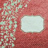Floral backgrounds with vintage roses. EPS 8 Royalty Free Stock Images