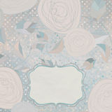 Floral backgrounds with vintage roses. EPS 8 Royalty Free Stock Photography