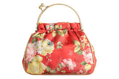 Floral bag. Stock Photos