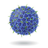 Floral ball Royalty Free Stock Images