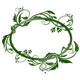 Floral banner 01. Highly detailed floral ornaments as decorative banner Royalty Free Stock Photography