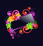 Floral banner Royalty Free Stock Photo
