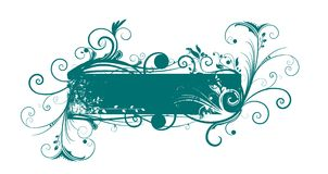 Floral banner Royalty Free Stock Image