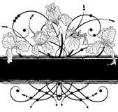 Floral banner Royalty Free Illustration