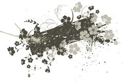 Floral banner. Illustration can be used for different purposes Stock Photo