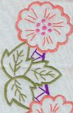 Floral banner Stock Photo