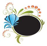 Floral banner / Frame Royalty Free Stock Photo