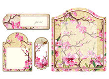 Floral banner's Stock Photo