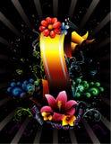 Floral banner vector vector illustration