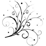 Floral banner vector Royalty Free Stock Photos