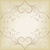 Floral banner vector Royalty Free Stock Photography