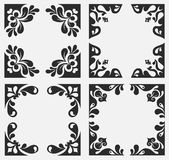 Floral banners Royalty Free Stock Images