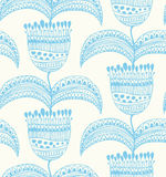 Floral beautiful seamless pattern  Oriental stylis Stock Photos
