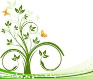Floral beckground vector Royalty Free Stock Images