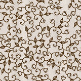 Floral beige background Stock Photography