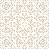 Floral beige seamless Stock Image