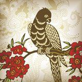 Floral and Bird 1-3 Royalty Free Stock Images