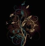 Floral bitmap background Stock Images