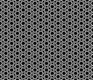 Floral black and white seamless pattern design Royalty Free Stock Photography