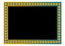 Floral border. A colorful border. Adobe illustrator file is available Stock Image