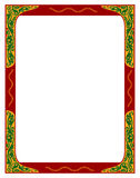 Floral border. A colorful border. Adobe illustrator file is available Royalty Free Stock Photo