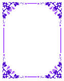Floral border. A colorful border. Adobe illustrator file is available Royalty Free Stock Photography
