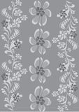 Floral   border. Design background Stock Photography