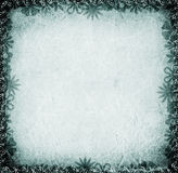 Floral Border. Floral grunge border made with photoshop Royalty Free Stock Image